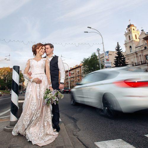 свадьба в городе