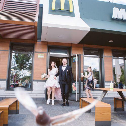 свадьба и макдональдс