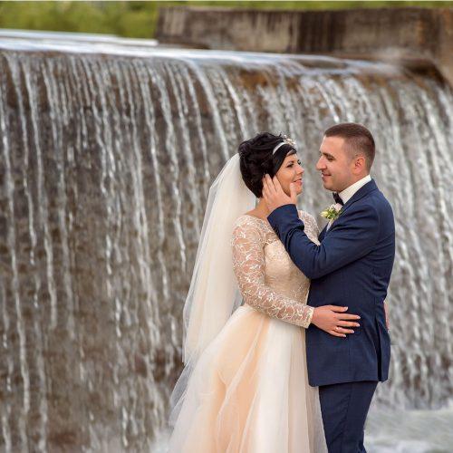 водопад на свадьбе