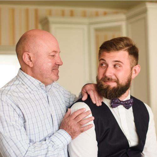 жених с отцом