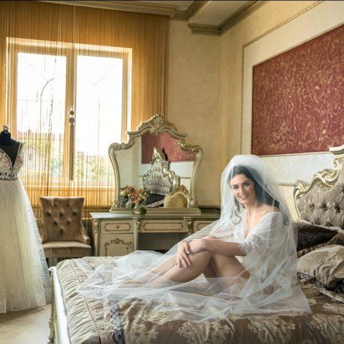 утро невесты на усадьбе