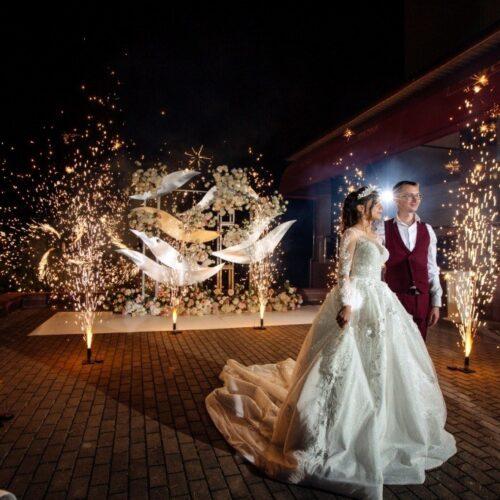 финал свадьбы