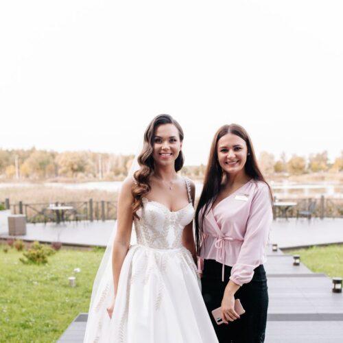организатор и невеста