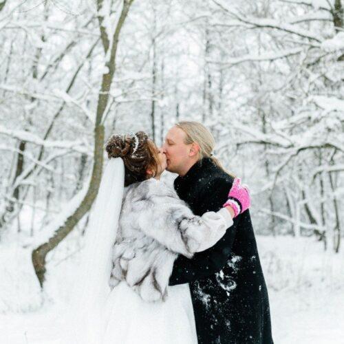 организовать свадьбу зимой